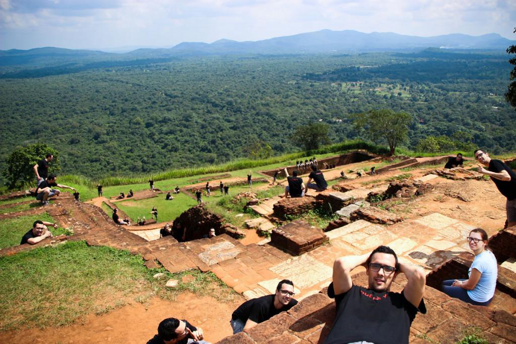 Tole pa je naša odprava na Sigiryjo.