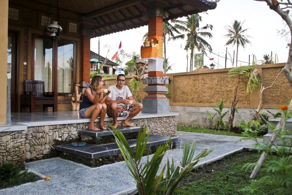 Najina hiška na Baliju.