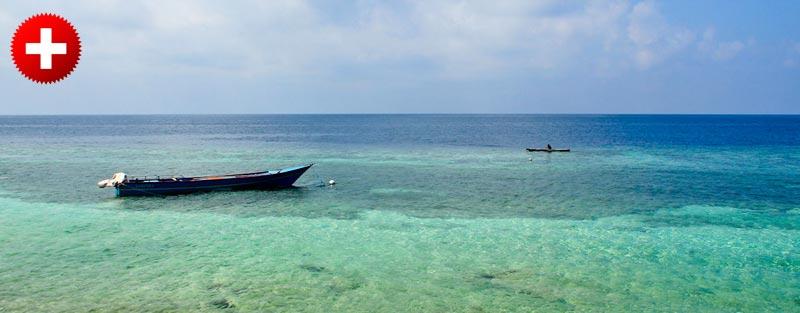 Ambon glavno mesto maluku otočja, ki se ponaša z enimi najlepših plaž na svetu.