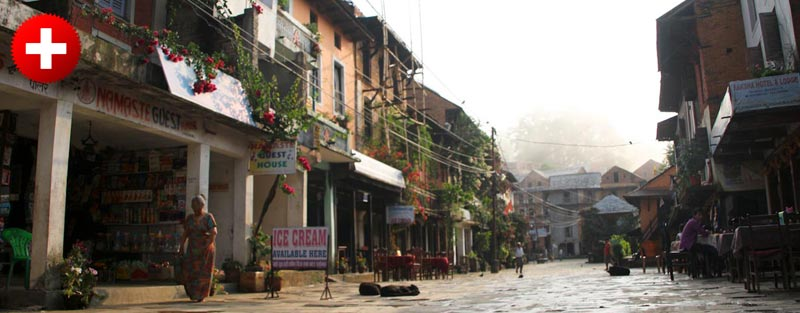 Bandipur je majhno alpsko mestece v nepalu, kjer lahko spijete dobro kavo in greste na potem po okoliških hribih.