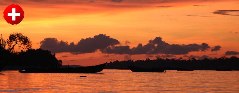 Potovanje na Andamanske otoke vas bo velikokrat nagradilo s sladolednim sončnim zahodom.