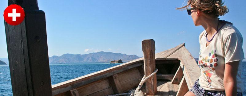 Labuan Bajo ponuja veliko možnosti raziskovanja z ladnjico. Poglejte nasvete o hotelih, prevozih in hrani.