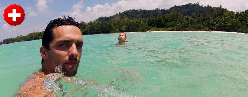 potovanje na Andamanske otoke vam bo prineslo veliko čiste modre vode in belih plaž, ki jih boste dodobra izkoristili.