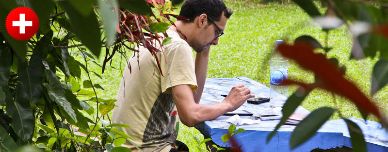 Mestece Pai je simpatično, barvito in ima prijazen vibe. Stanujete lahko v bungalovih s pogledom v naravo.