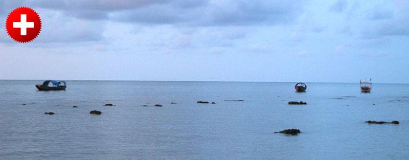 Potovanje na Andamanske otoke vas bo peljalo čez glavno mesto Port Blair.