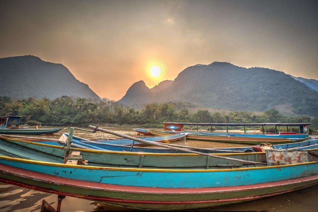 Potovanje v Laos.