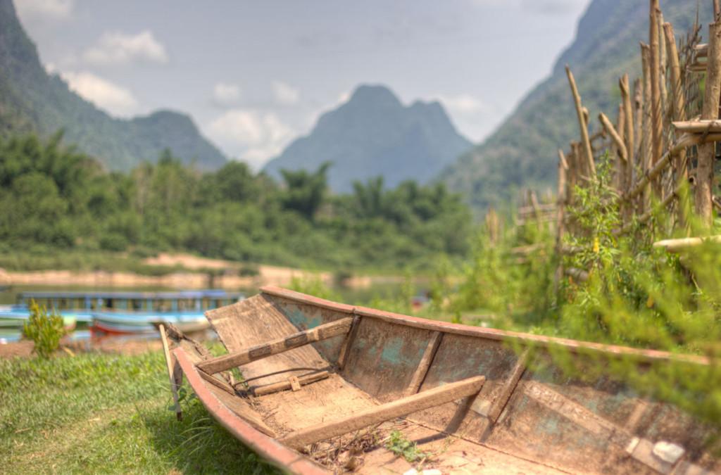 Potovanje v Laos. Muong Ngoi.