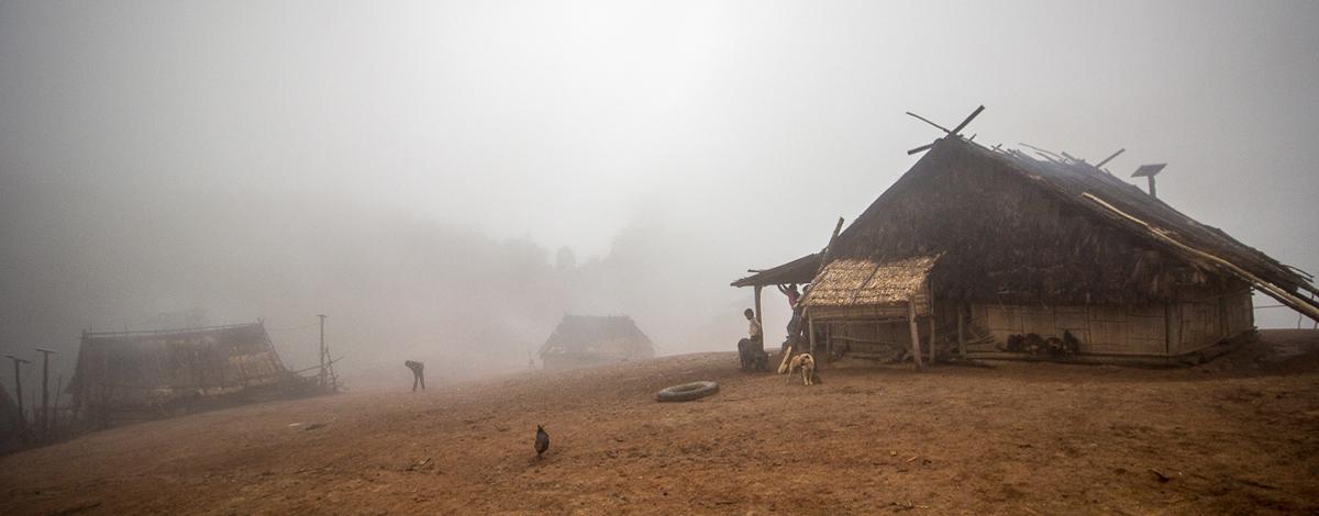 Trekking v Laosu