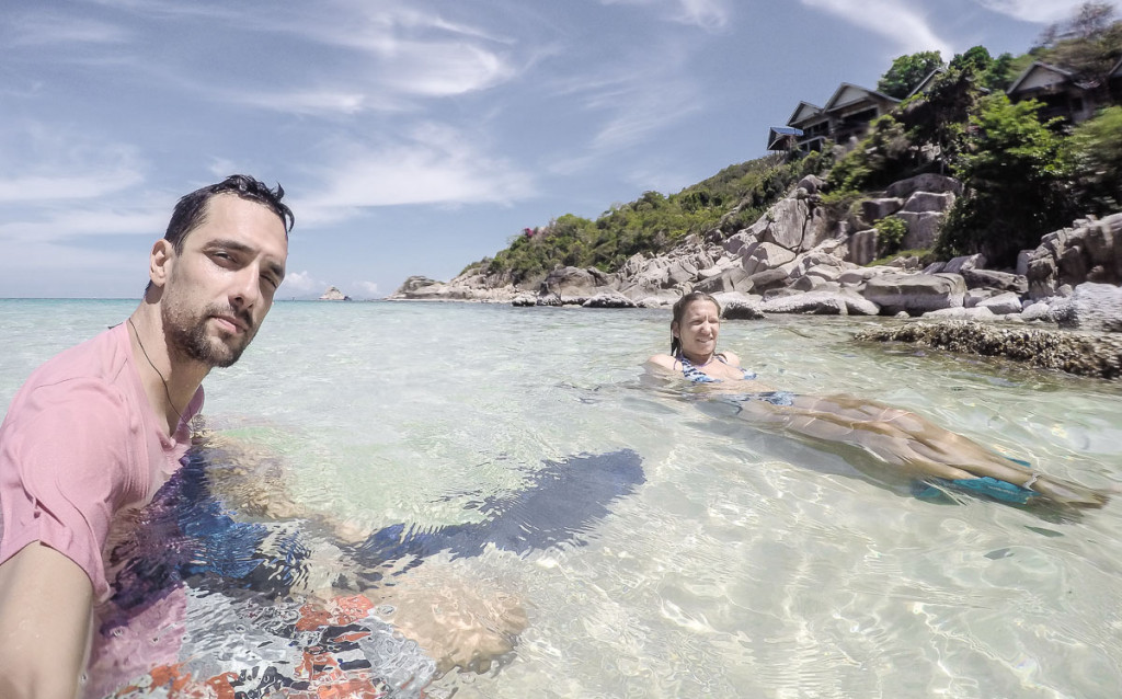 Snorklanje na Koh tao, Tajska.