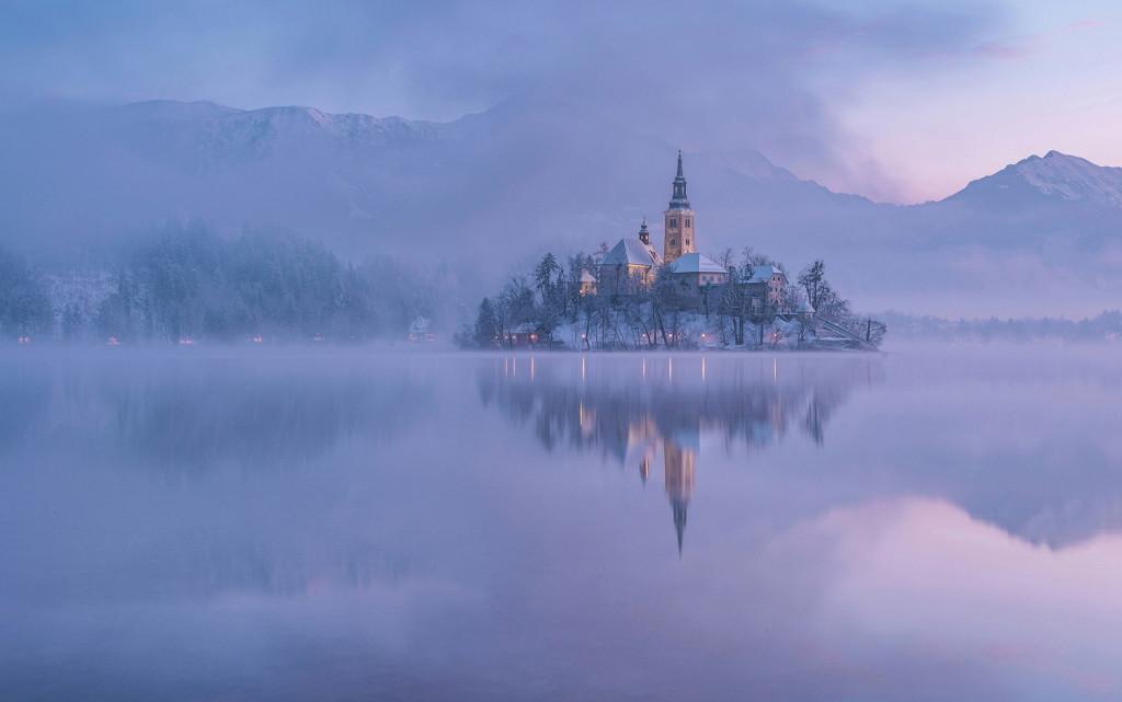 Bled-winter-morning-1