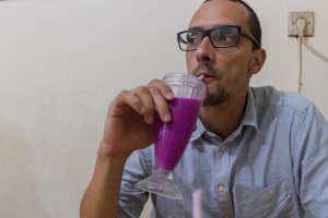 Najboljši sok na svetu: soursop in dragonfruit.
