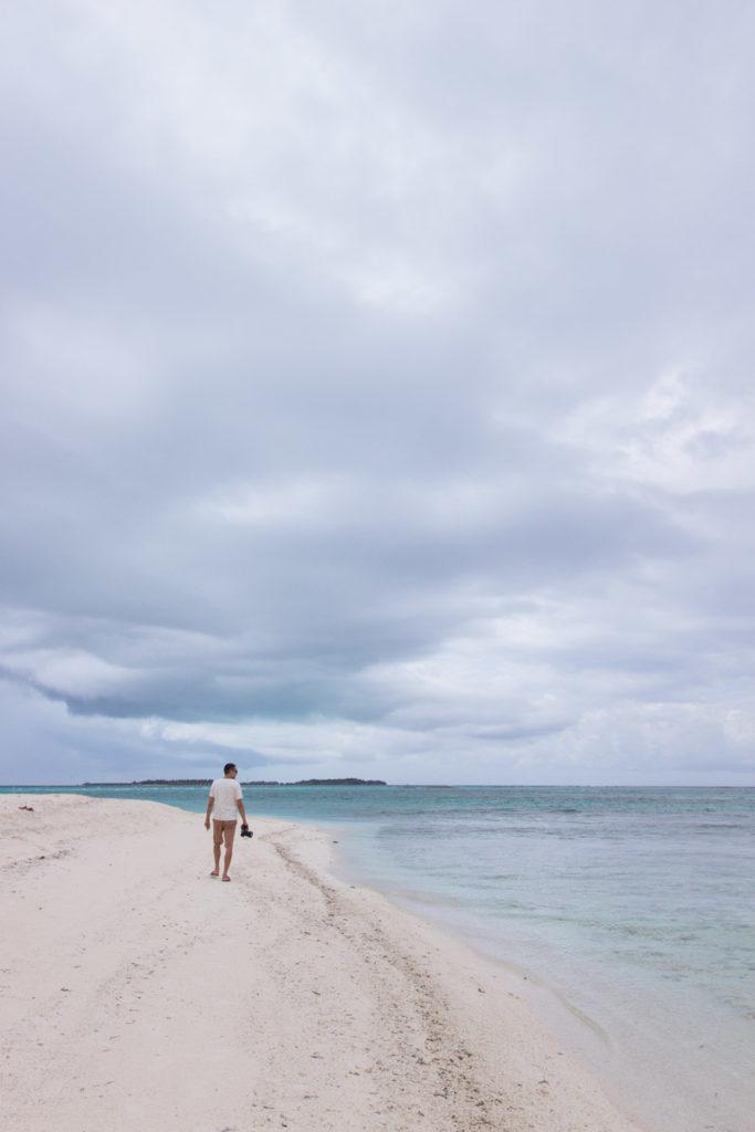 Morje na Maldivih.