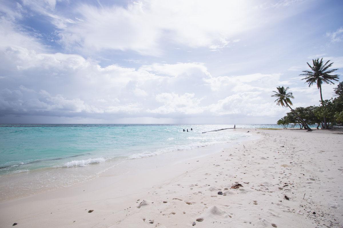 Plaža na Maldivih
