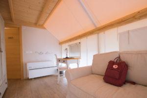 Notranjost šotora, Herbal glamping, Charming Slovenia