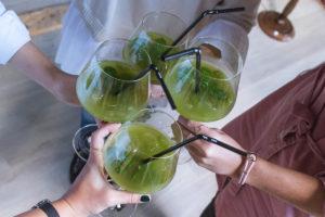 Zeliščni koktejl, Herbal Glamping, Charming Slovenia