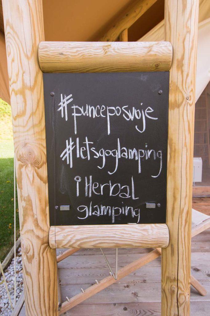 Punce po svoje, Herbal glamping, Charming Slovenia
