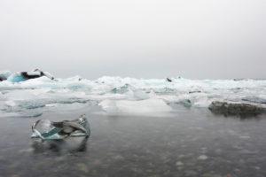 Čudovita laguna Jokulsarlon, Islandija