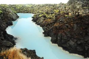 Blue lagoon, Islandija