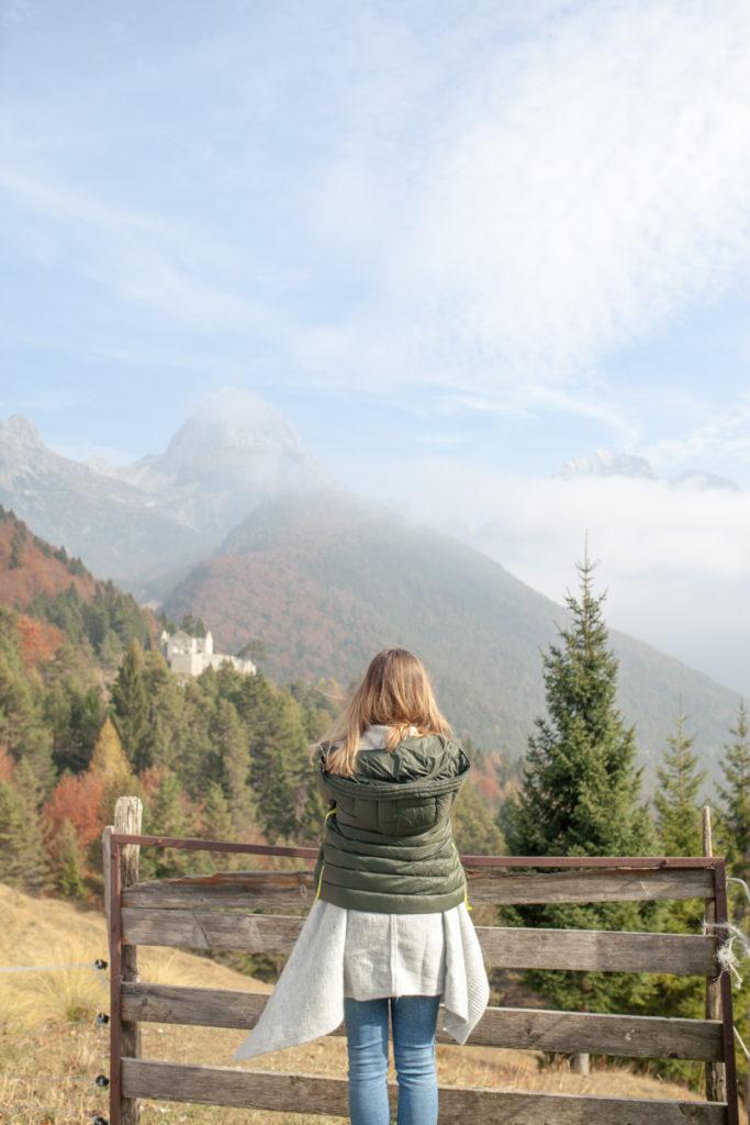 Zoe, Slovenija, razgled na gore