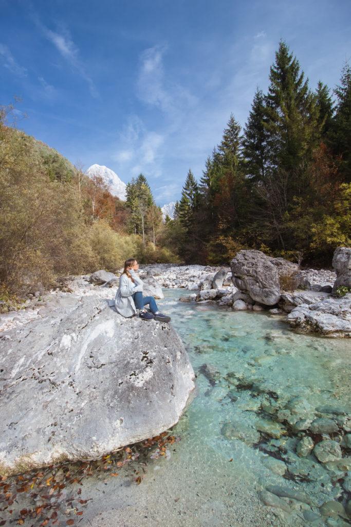 Zoe, Slovenija, Soča