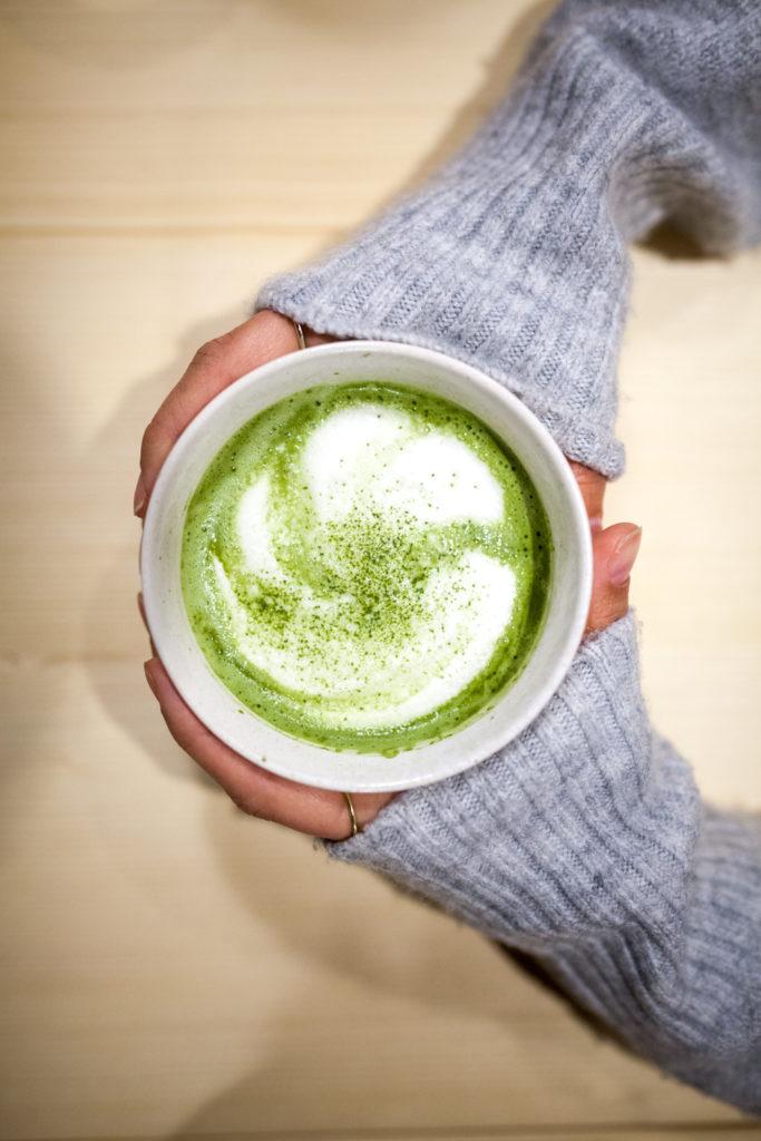 Matcha latte, Suwon