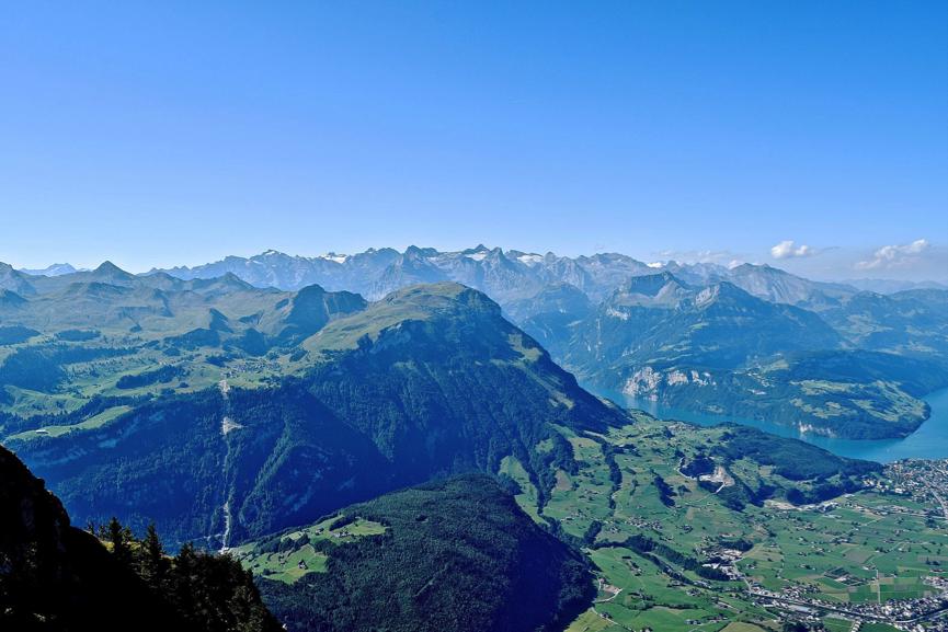 Grosser Mythen, Švica