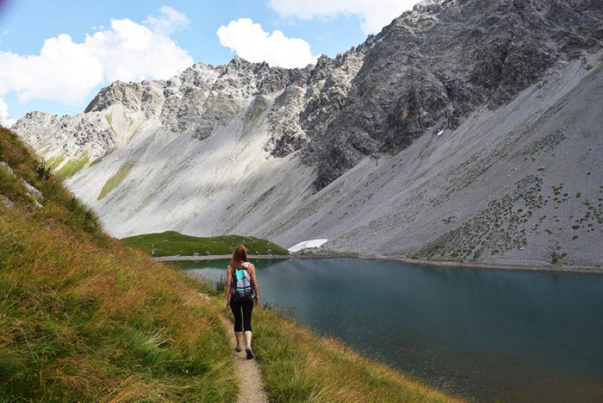 Jezero Älplisee, Arosa, Švica