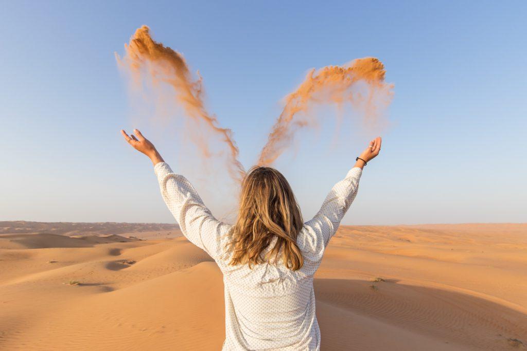 Puščava, Oman