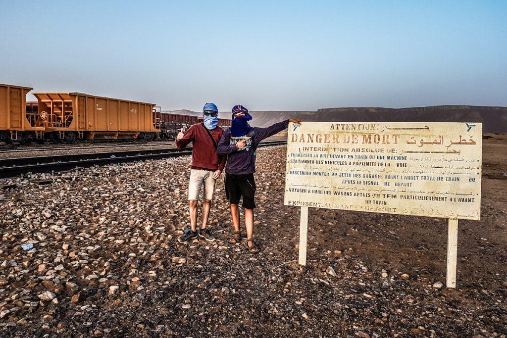 Vlak, Choum, Mavretanija, Afrika