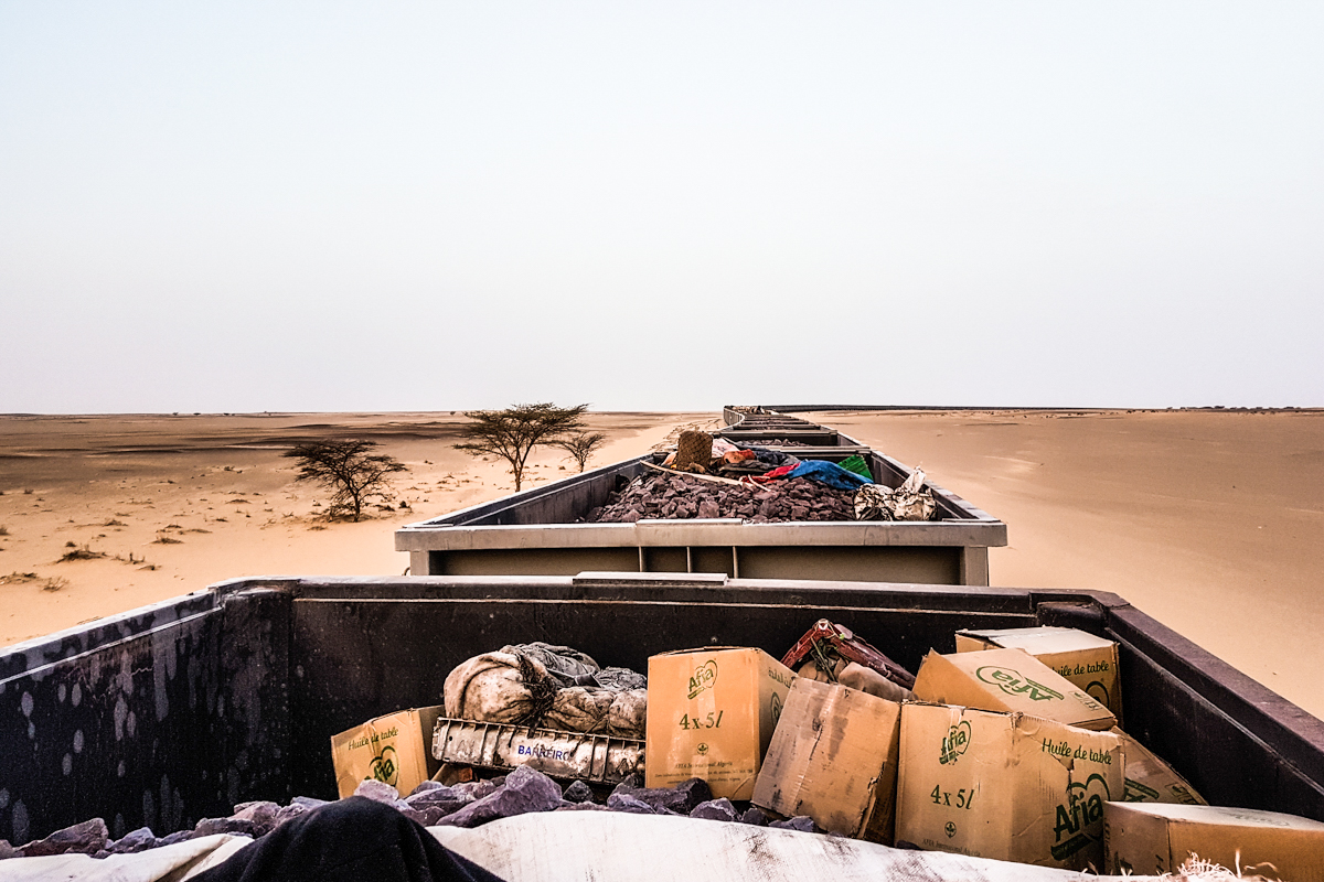 Vlak, Choum, Mavretainja, Afrika